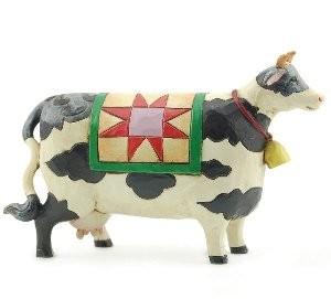 Heartwood Creek, Jim Shore, Mini Cow, Mini Kuh