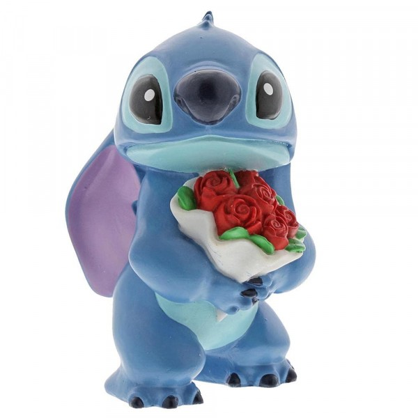 Disney Showcase, Stitch Flowers, Stitch mit Blumen