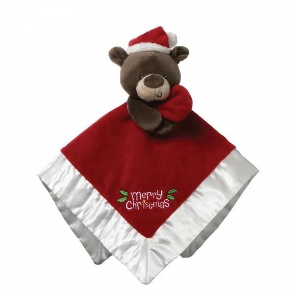 Gund Schmusetuch Weihnachtsbär