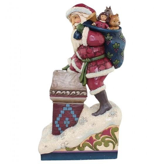 Heartwood Creek, Making Magic, Santa in Chimney, Weihnachtsmann