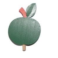 Apfel grün für Kerzenring groß