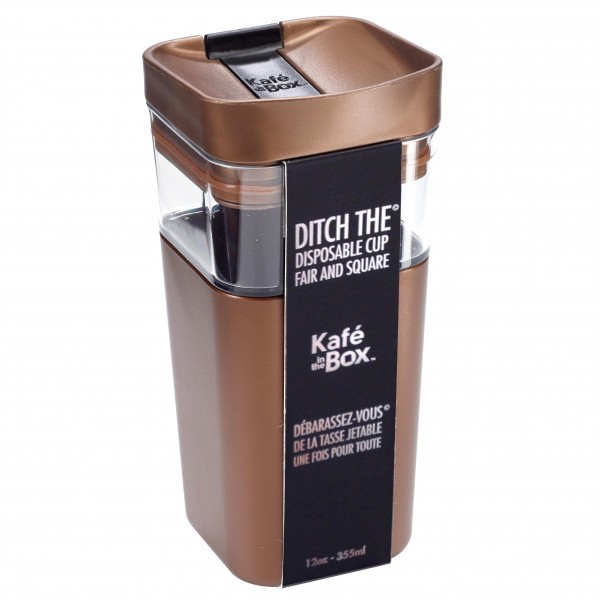 Kafé in the Box, Coffee to go Becher,Thermobecher, Reisebecher, Becher zum Mitnehmen