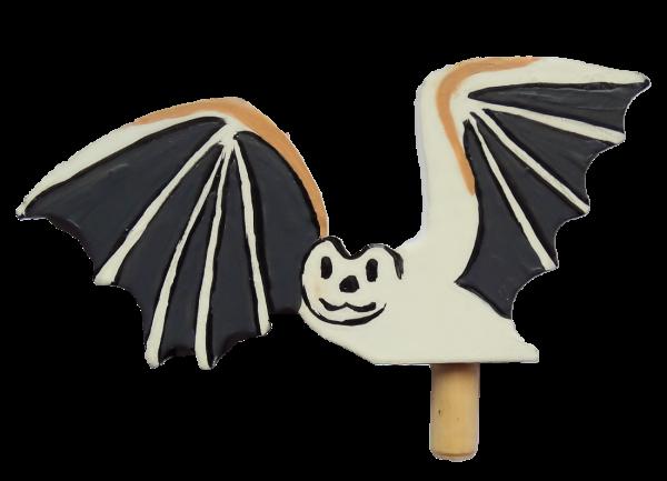 Wunderschöne Dekoration zu Halloween für die großen Kerzenringe von Sebastian Design, Halloween, Fledermaus, HK-H-2020-3