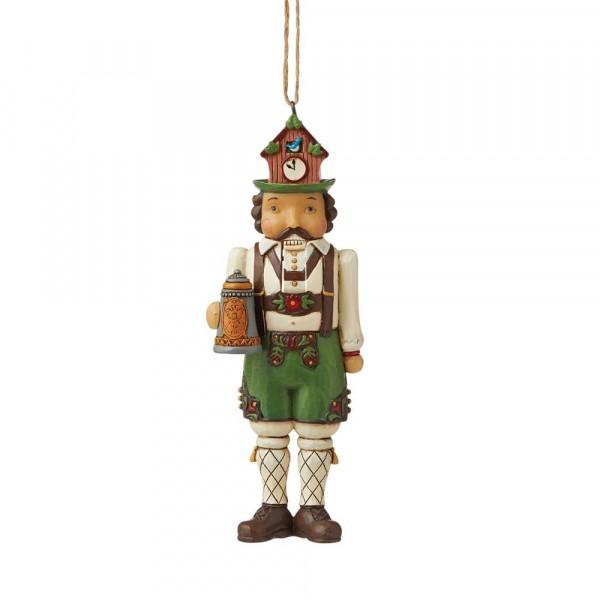 Jim Shore, Heartwood Creek, Jim Shore Weihnachten, 6009471, German Nutcracker Ornament, Deutscher Nussknacker, Jim Shore Nussknacker, Jim Shore Nutcracker