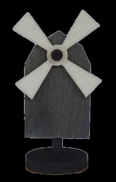 Sebastian Design, Candlering, Kerzenring, Skandinavischer Holzkranz, Skandinavische Kerzenringe, Windmühle, rot, schwedisches Rot, 46-161-123