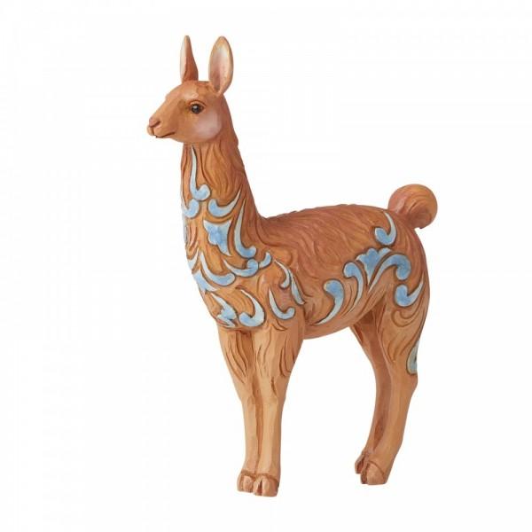 Heartwood Creek, Jim Shore, Llama Mini Figurine, Lama Minifigur