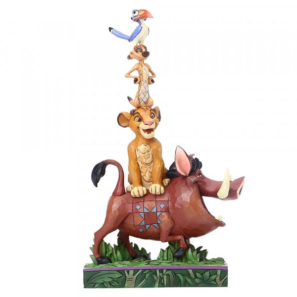 Disney Traditions, Jim Shore, Balance of Nature, The Lion King, König der Löwen, Stacking Figurine, 6005962