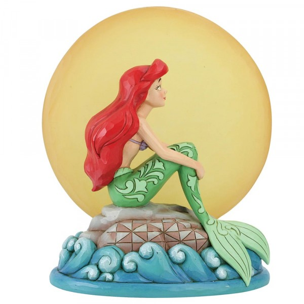 Disney Traditions, Jim Shore, Mermaid by Moonlight, Arielle im Mondschein, Ariel, 6005954