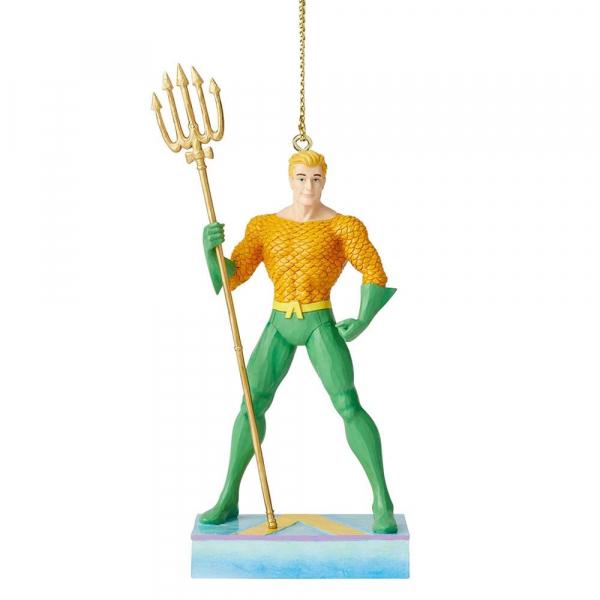 Disney Traditions, Jim Shore, Silver Age - DC Comics Justice League, Aquaman Ornament / Anhänger