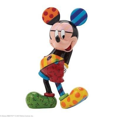 Romero Britto Pop Art aus Miami - Mickey Mouse / Micky Maus