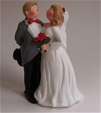 Hochzeitspaar, Zylinder, Anzug schw