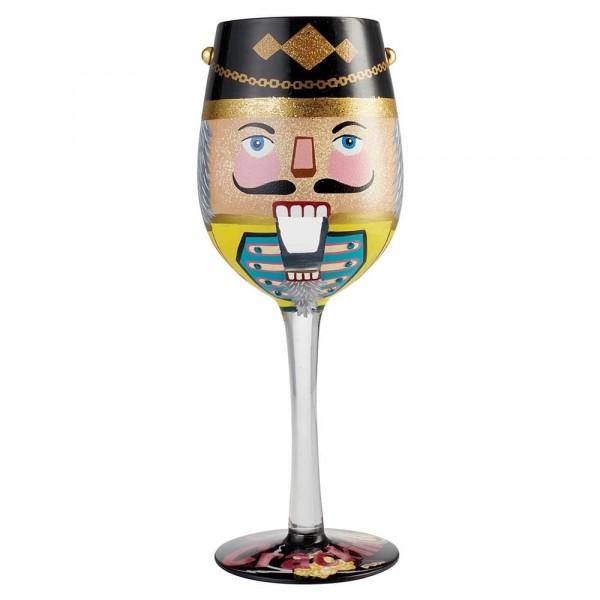 Lolita Glas, Lolita Gläser, Lolita Weinglas, Lolita Weingläser, Cracker Wine Glass, Nussknacker Weinglas