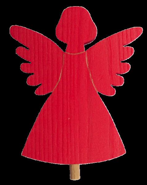 Sebastian Design, Kerzenringe, Holzkränze, Steckfiguren, roter Engel