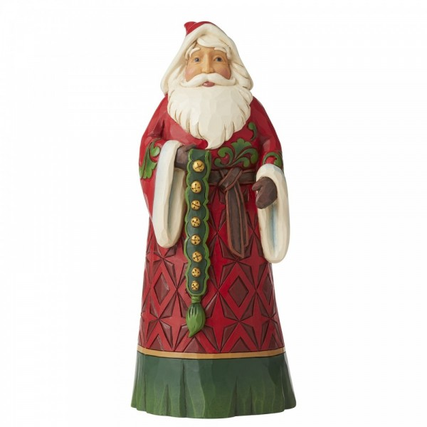 Heartwood Creek, Jim Shore, Let Goodwill Ring, Lass den guten Willen erklingen, Santa, Weihnachtsmann