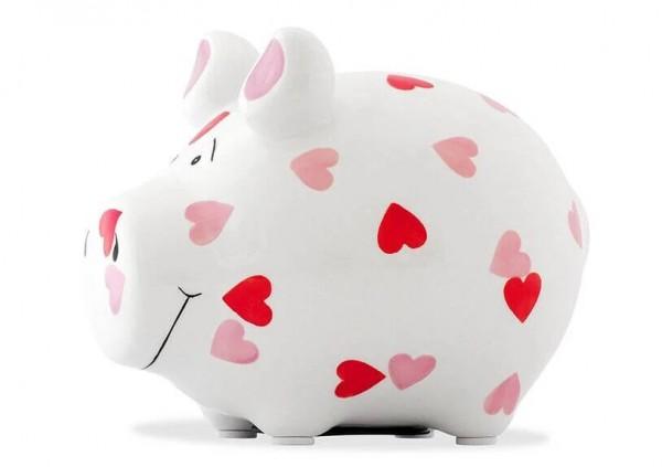 Sparschwein Herzchen