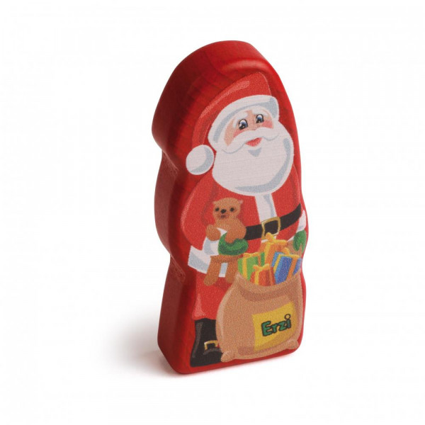 Sebastian Design, skandinavische Kerzenringe, Kerzenring, Kerzenringe, Holzkranz, Steckfigur, Candlerings, skandinavische Dekoration, Erzi Weihnachtsmann