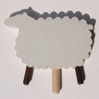 Schaf für Kerzenring klein