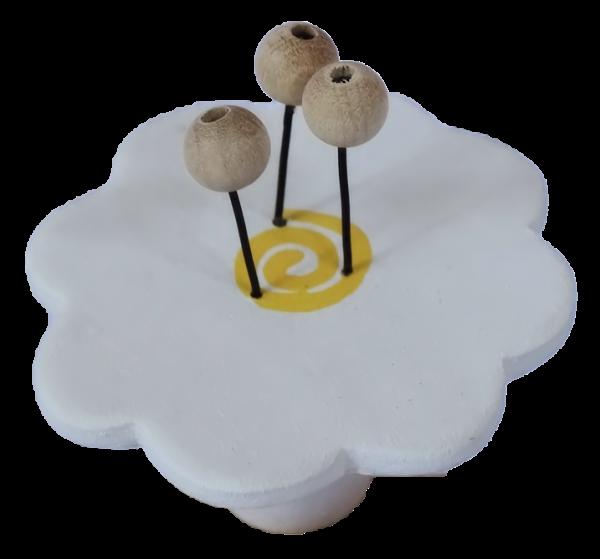 Sebastian Design Kerzenringe, Kerzenring, Holzkranz, Holzkränze, Candle Rings, nordische Kerzenringe, skandinavische Kerzenringe, skandinavische Dekoration, Blume mit Blütenstempel, 10-208