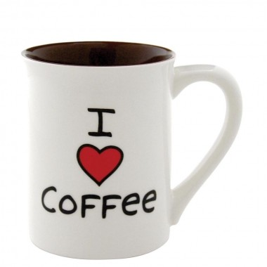 I Love Coffee Becher