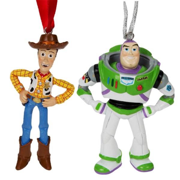 Disney, Walt Disney, Widdop and Co, Disney, Hanging Decoration, Weihnachtsanhänger, Woody, Toy Story, Buzz Lightyear, Disneyornamente