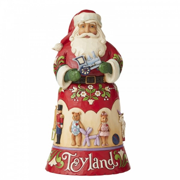 Heartwood Creek, Jim Shore, Toyland Santa, 14th in Christmas Song Series, Spielzeugland, Weihnachtsmann
