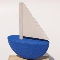Schiff blau für Kerzenring 510