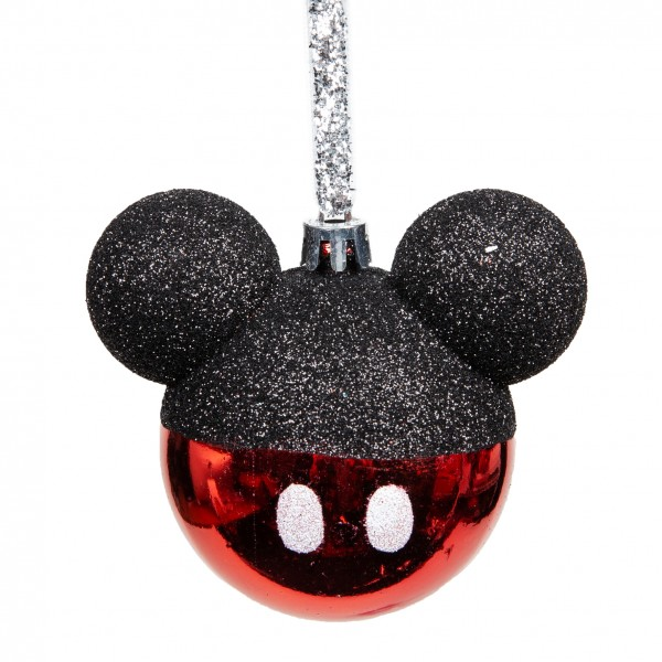 Disney, Walt Disney, Widdop and Co, Disney Mickey Mouse Christmas Bauble, Micky Maus Weihnachtskugel, DI2760