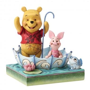 Disney Traditions, Jim Shore - 50 Years of Friendship WInnie Pooh & Piglet / Winnie Puuh und Ferkel