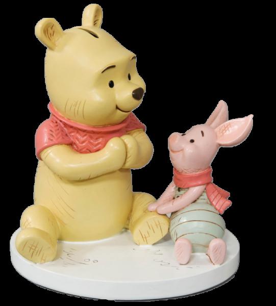 Widdop, Disney Magical Moments, Winnie Pooh & Piglet Money Bank, Winnie Puuh & Ferkel Spardose, Sparschwein, DI555