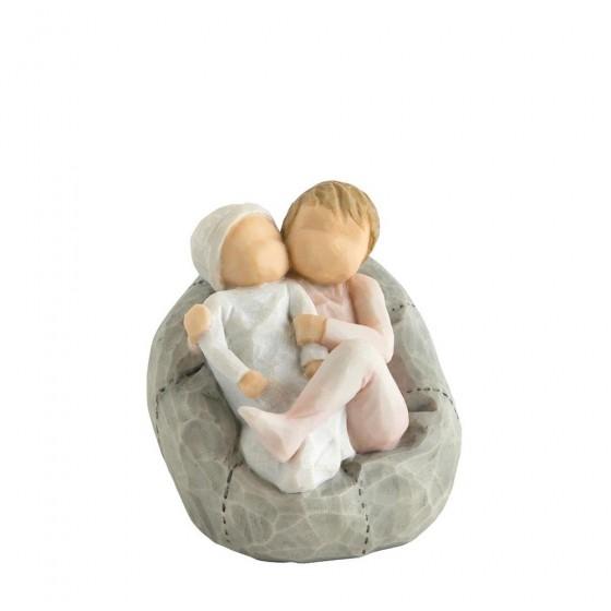 Willow Tree, Willowtree, Demdaco, Susan Lordi, My New Baby Girl, rosa, Geburt