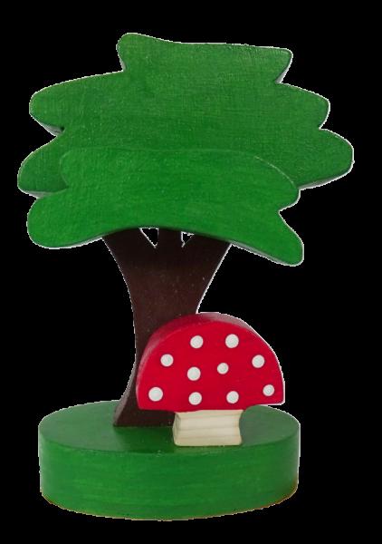 Sebastian Design, Kerzenringe, Kerzenring, skandinavische Kerzenringe, Holzkranz, Holzkränze, skandinavische Dekoration, Baum, Platane mit Pilz, HK-B-2020-17