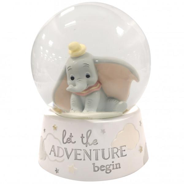 Disney, Walt Disney, Widdop and Co, Disney Magical Beginnings, Dumbo Water Ball, Dumbo Schneekugel, DI655