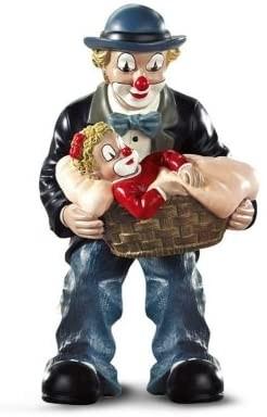 Gilde Handwerk, Gilde Clowns, Vater mit Mädchen im Korb, 35040