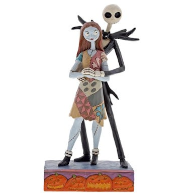 DIsney Traditions, Jim Shore - Fated Romance Jack and Sally / A Nightmare Before Christmas, 4057951