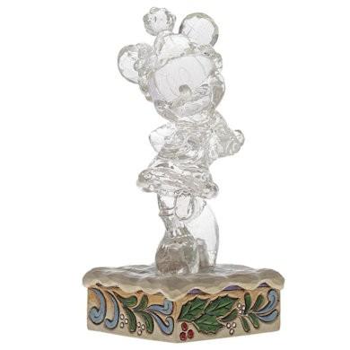 DIsney Traditions, Jim Shore - Ice Bright Minnie Mouse / Minnie Maus Eisskulptur
