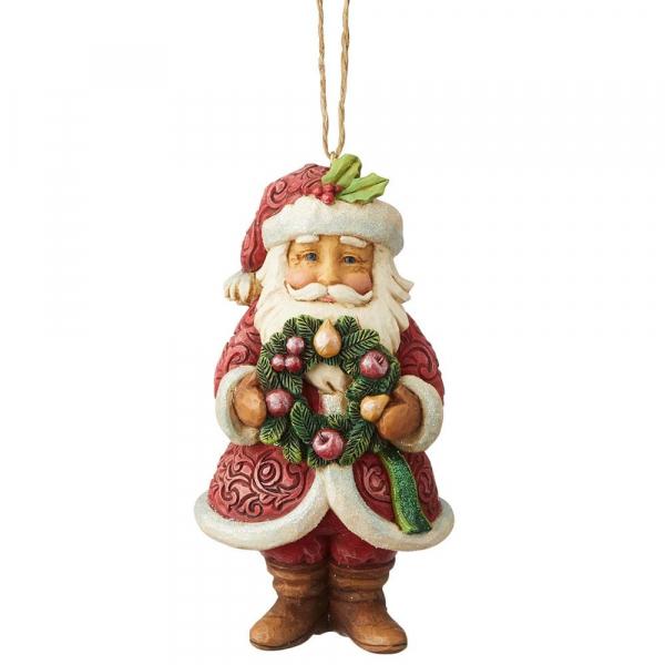 Heartwood Creek, Jim Shore, Wonderland Santa Ornament, Weihnachtsmann Anhänger