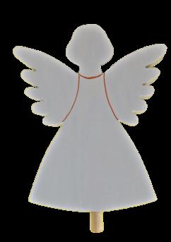 Sebastian Design, Kerzenringe, Holzkränze, Steckfiguren, weißer Engel