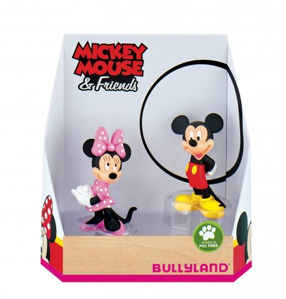 Bullyland, Mickey & Friends, Geschenkset, Micky & Minnie, Mickey & Minnie, Double Pack, 15083
