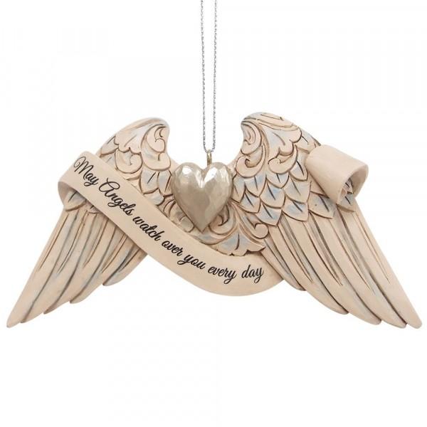 Jim Shore, Heartwood Creek, 6009574, Jim Shore Guardian Angel Wings , Schutzengel Engelsflügel, Volkskunst, Jim Shore Engel