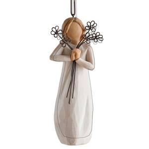 Willow Tree, Willowtree, Demdaco, Susan Lordi, Friendship Ornament, Freundschaft Anhänger