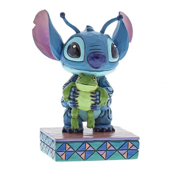 Disney Traditions, Jim Shore - Strange Life Forms / Stitch mit Frosch