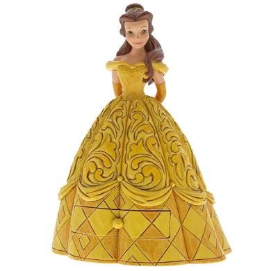 Disney Traditions, Jim Shore, Treasure Keeper - Belle, Schmuckkästchen / Die Schöne und das Biest