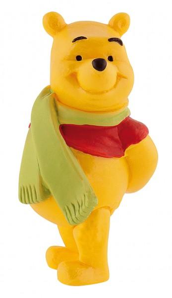 Bullyland, Winnie Puuh, Winnie Pooh, Walt Disney, 12327, Winnie Puuh mit Schal