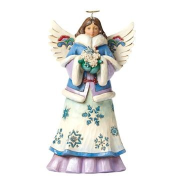 Heartwood Creek, Jim Shore, May Blessings Fall Upon You, Winter Angel, Winter Engel