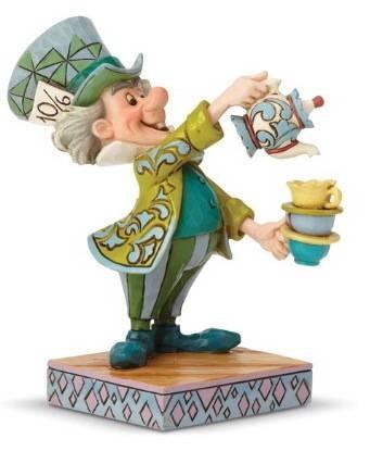 DIsney Traditions, Jim Shore - Mad Hatter, Alice in Wonderland / Der verrückte Hutmacher, Alice im Wunderland