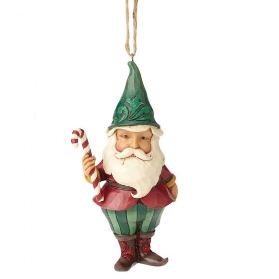 Heartwood Creek, Jim Shore, Winter Wonderland Santa Gnome Ornament, Anhänger
