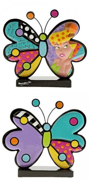 Romero Britto Pop Art aus Miami Icon - Tinker Bell Butterfly / TInkerbell