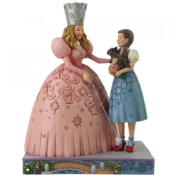 Jim Shore, Wizard of Oz, Der Zauberer von Oz, Glinda and Dorothy in Ruby Slippers