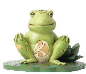 Heartwood Creek, Jim Shore, Bounce With Me, Frog, Frosch