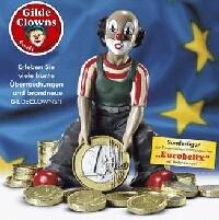Gilde Handwerk, Gilde Clowns, Eurobelix, Clown mit Euromünze